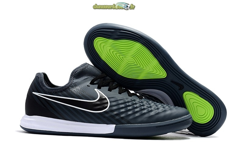 Chaussure Nike MagistaX Finale II IC Gris Noir