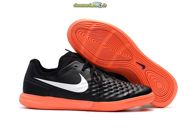 Chaussure Nike MagistaX Finale II IC Orange Noir