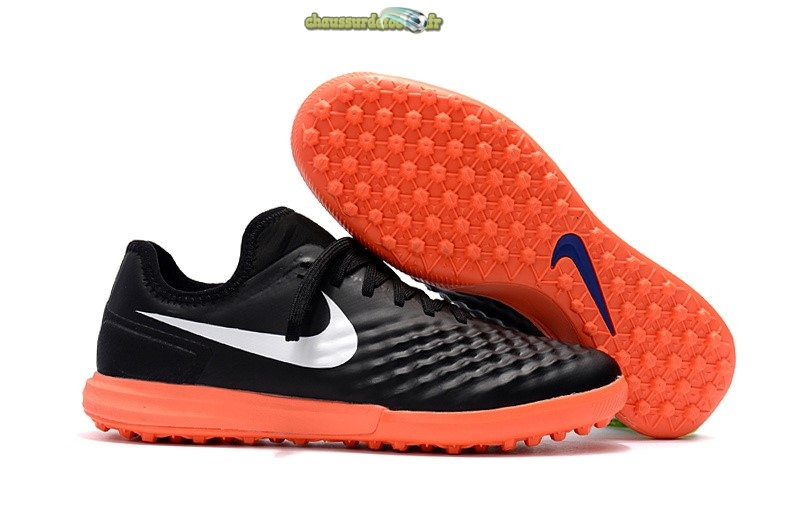 Chaussure Nike MagistaX Finale II TF Noir Orange