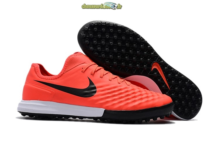 Chaussure Nike MagistaX Finale II TF Orange Noir Blanc