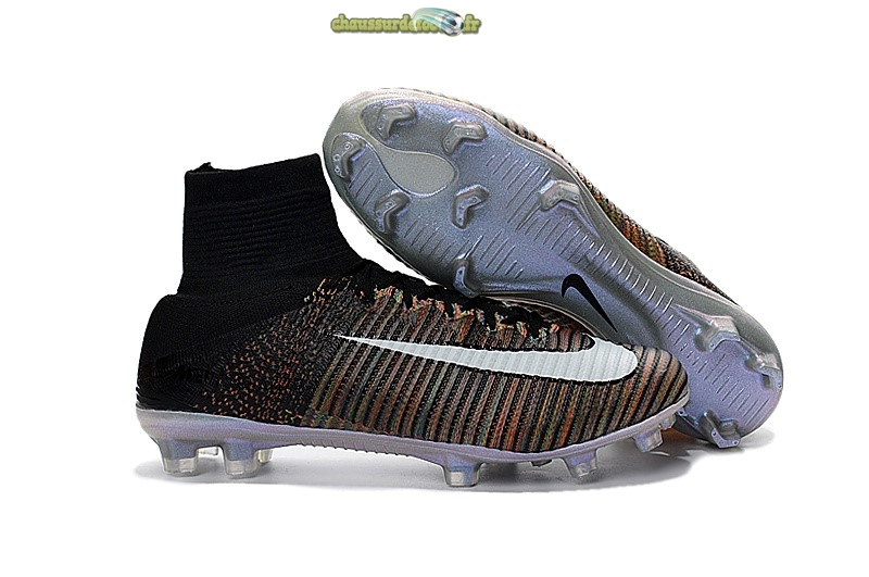 Chaussure Nike Mercurial Superfly V FG Noir Multicolore