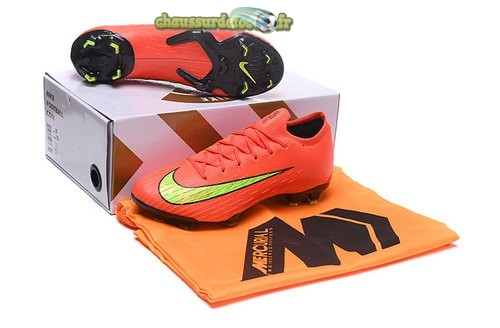 Chaussure Nike Mercurial Superfly VI Elite FG Jaune Orange