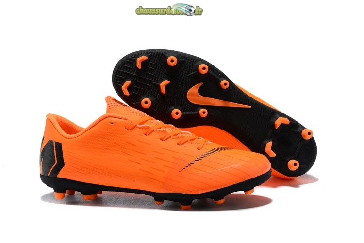Chaussure Nike Mercurial Vapor XII PRO MG Orange
