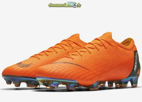 Chaussure Nike Mercurial Vapor XII Pro FG Orange