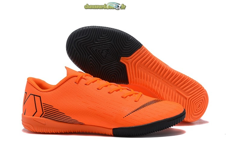 Chaussure Nike Mercurial VaporX 12 Club IC Orange
