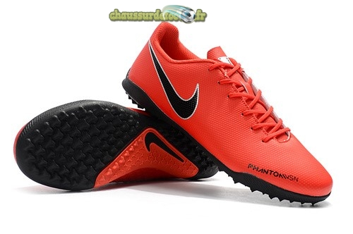 Chaussure Nike Phatom Vision TF Rouge