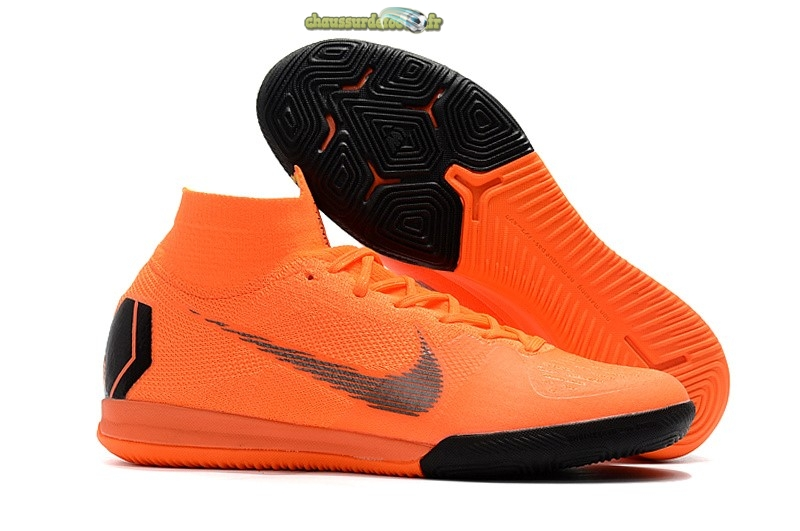 Chaussure Nike SuperflyX 6 Elite IC Orange