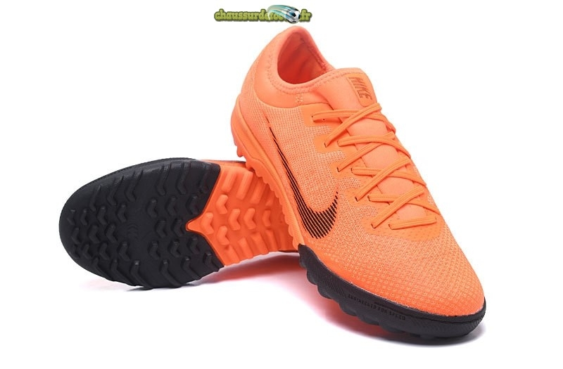 Chaussure Nike Mercurial VaporX VII Pro TF Orange