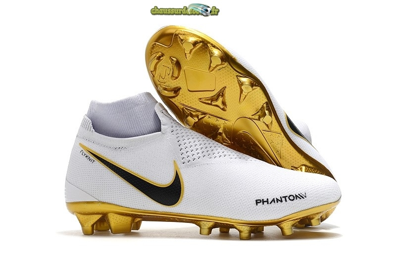 Chaussure Nike Phantom Vision Elite FG Or