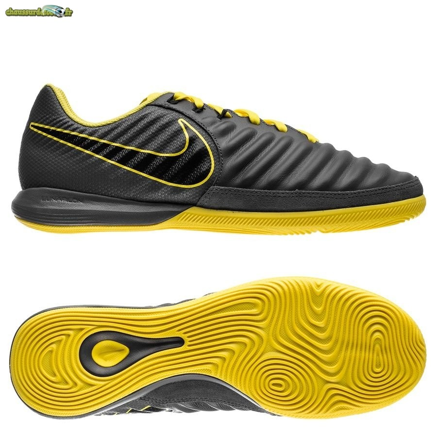 Chaussure Nike Lunar Legend VII Pro IC Game Over Jaune Noir