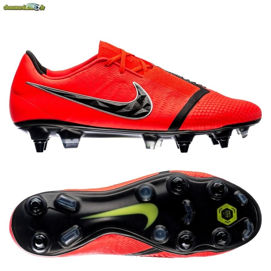 Chaussure Nike Phantom Venom Elite SG PRO Game Over Noir Rouge