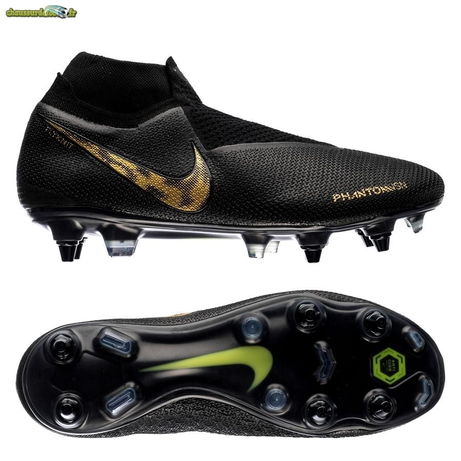 Chaussure Nike Phantom Vision Elite DF SG PRO Anti Clog Black Lux Noir