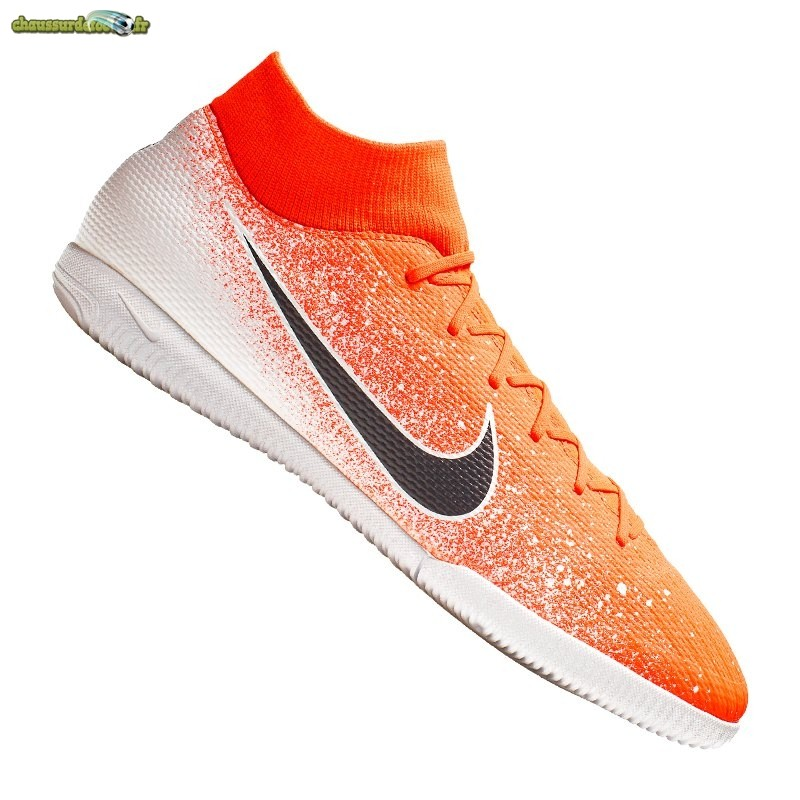 Chaussure Nike Mercurial SuperflyX VI Academy IC Orange