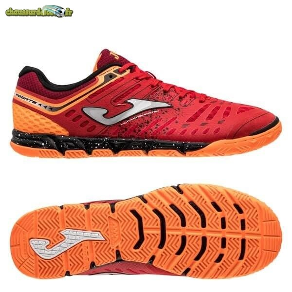 Chaussure Joma Regate Femme IN Rouge Orange