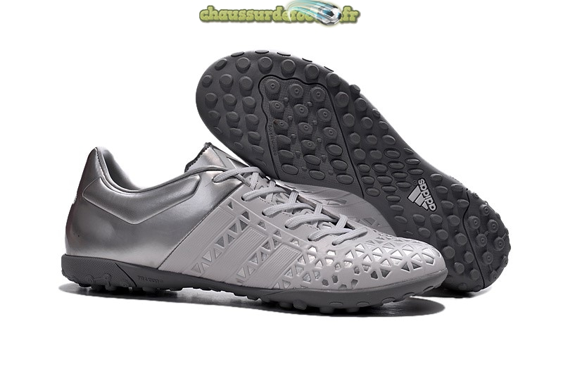 Chaussure Adidas Ace 15.1 TF Gris Noir