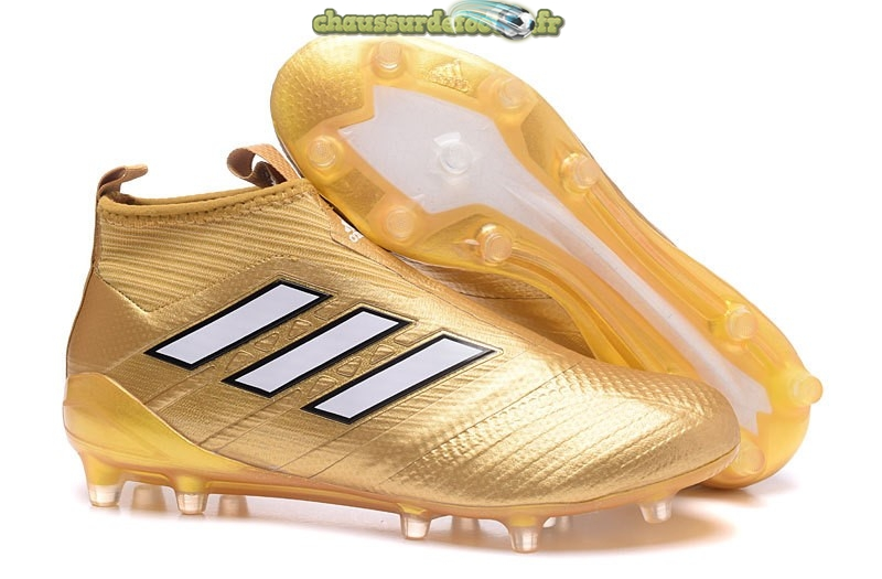 Chaussure Adidas Ace Purecontrol FG Or