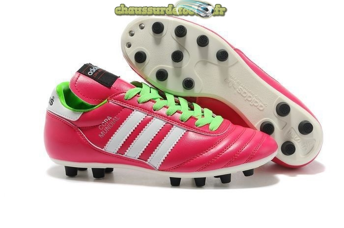 Chaussure Adidas Copa FG Rouge Blanc