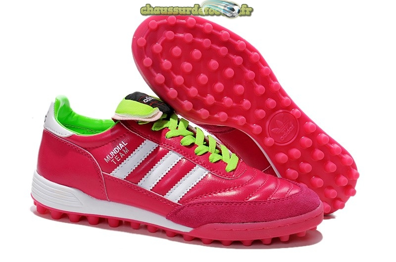Chaussure Adidas Copa TF Rouge Blanc