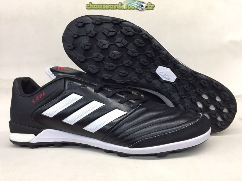Chaussure Adidas Mundial Team Astro TF Noir Blanc Rouge