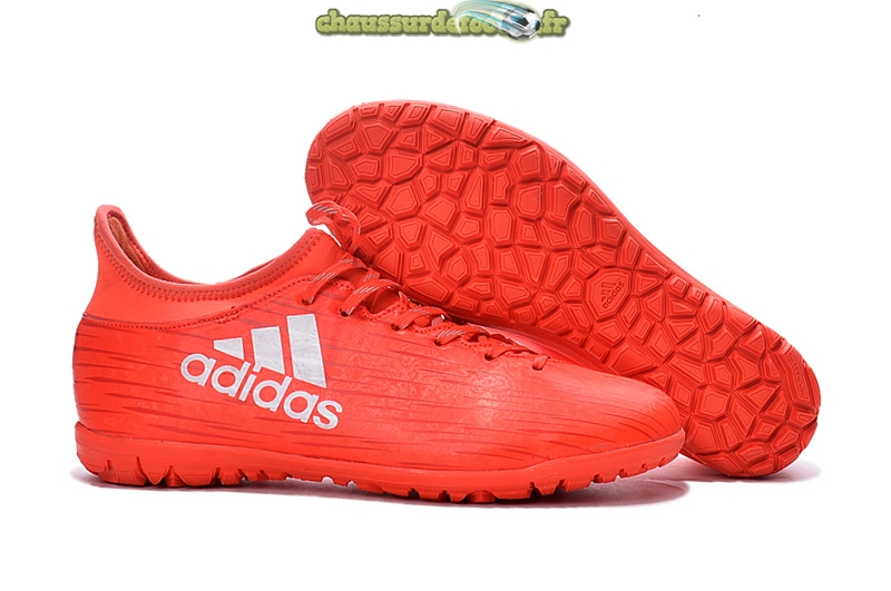 Chaussure Adidas X 16.3 Femme TF Rouge
