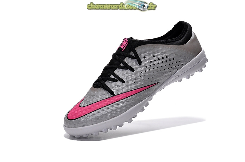 Chaussure Nike Elastico Finale III TF Argent Rouge