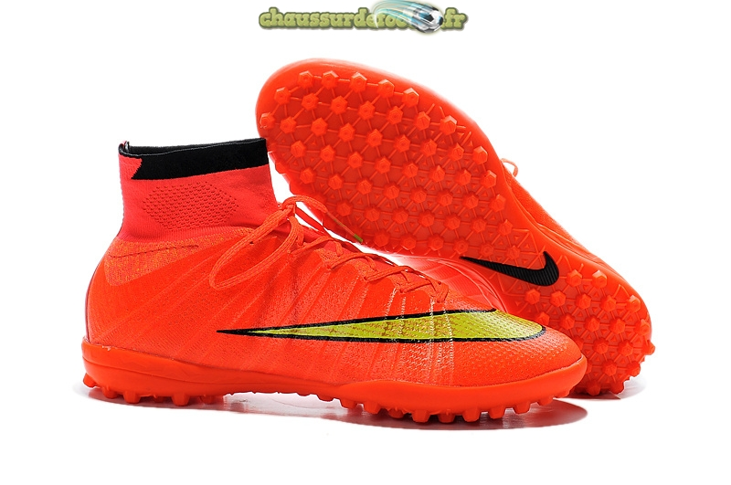 Chaussure Nike Elastico Superfly TF Rose