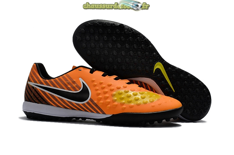 Chaussure Nike Magista Orden II TF Orange Noir