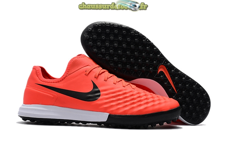 Chaussure Nike MagistaX Finale II TF Rouge Noir