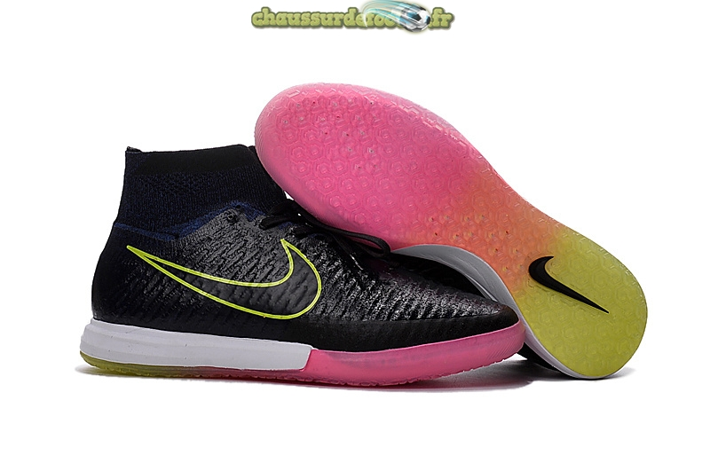 Chaussure Nike MagistaX INIC Noir Rose