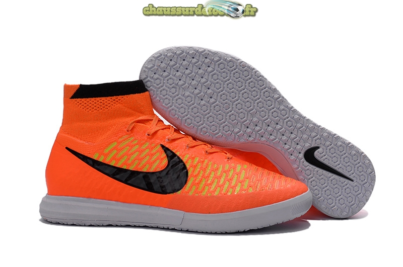 Chaussure Nike MagistaX INIC Orange Noir