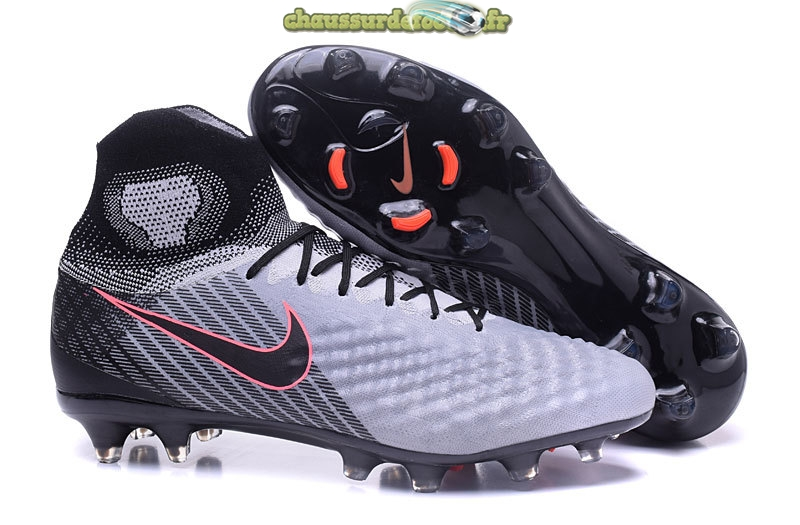 Chaussure Nike MagistaX Proximo II FG Gris Noir