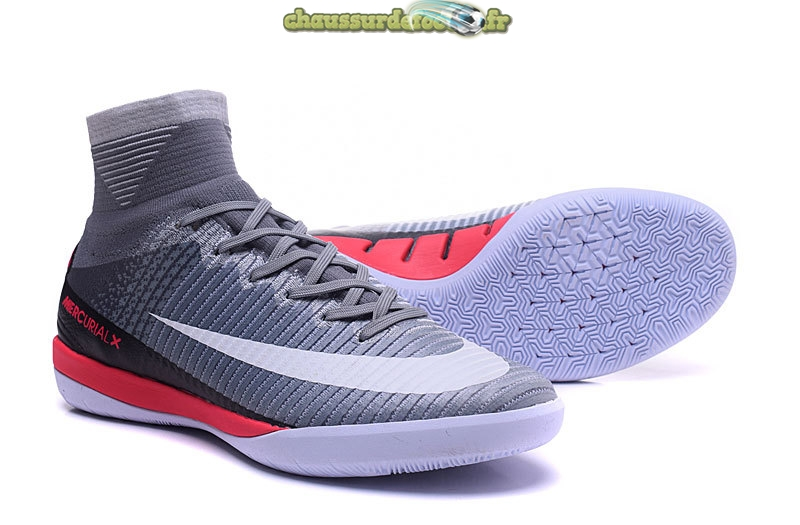 Chaussure Nike MagistaX Proximo II INIC Gris Blanc Rouge