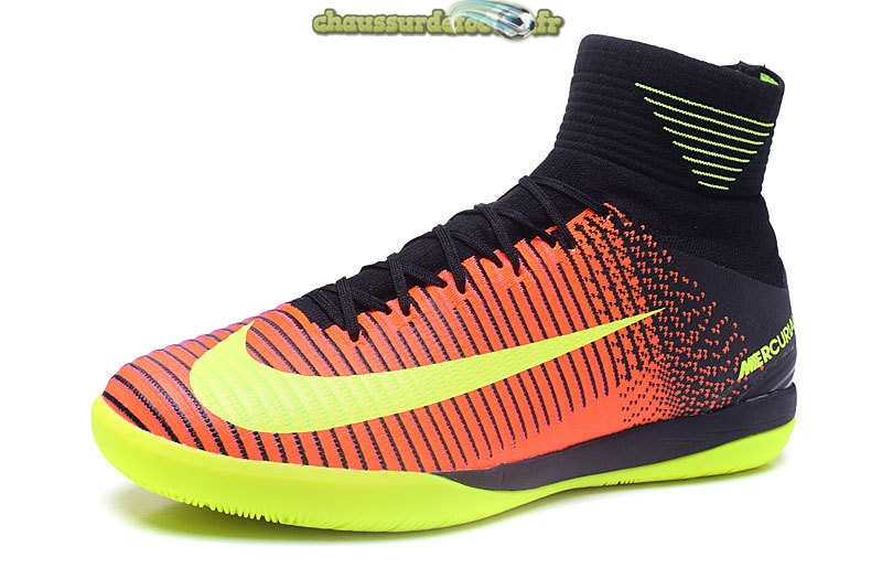 Chaussure Nike MagistaX Proximo II INIC Jaune Orange Rose Noir