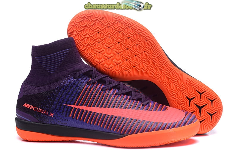 Chaussure Nike MagistaX Proximo II INIC Pourpre Orange
