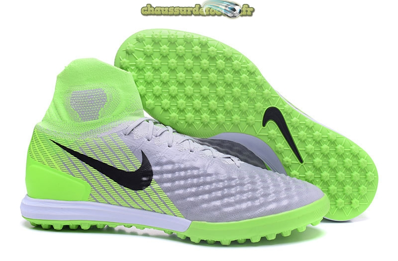 Chaussure Nike MagistaX Proximo II TF Gris Vert