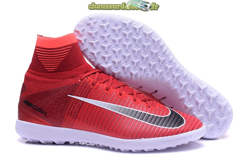 Chaussure Nike MagistaX Proximo II TF Rouge Noir