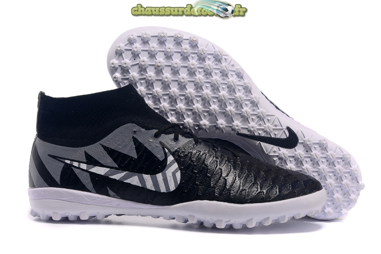 Chaussure Nike MagistaX Proximo TF Noir Gris Blanc