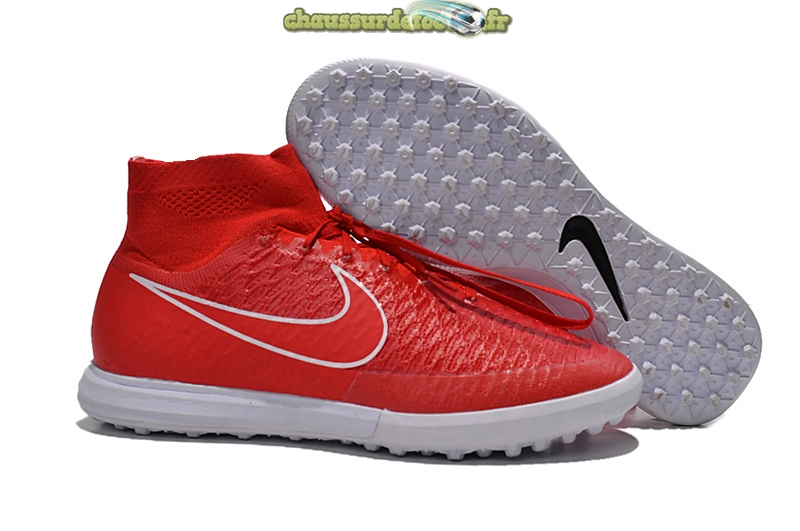 Chaussure Nike MagistaX Proximo TF Rouge