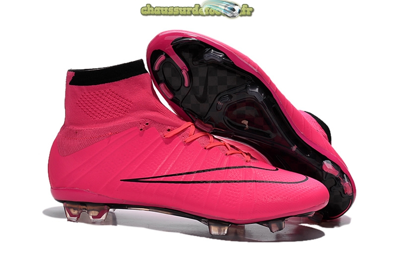 Chaussure Nike Mercurial Superfly Femme FG Rose
