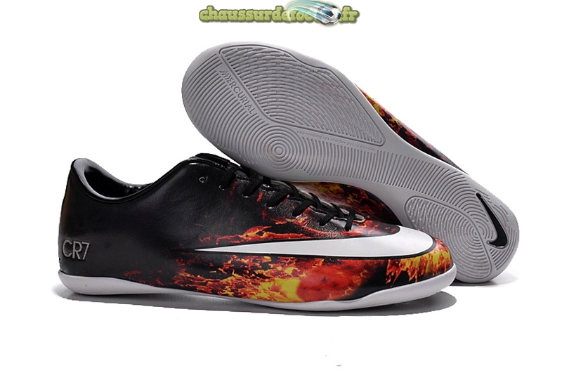 Chaussure Nike Mercurial Veloce CR7 INIC Noir Cramoisi Blanc