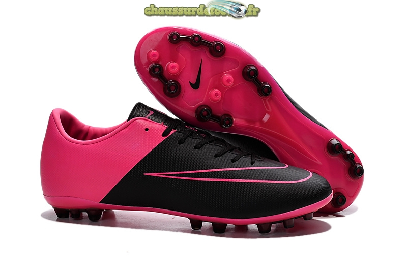 Chaussure Nike Mercurial X Victory Femme AG Rouge Noir