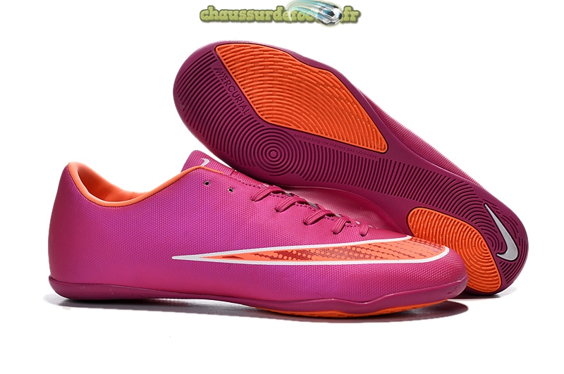 Chaussure Nike Mercurial X Victory INIC Rouge Orange