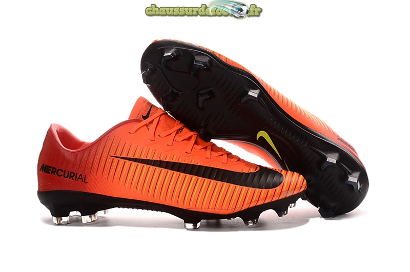 Chaussure Nike Mercurial XI FG Orange