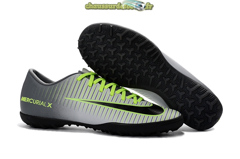 Chaussure Nike Mercurial XI Femme TF Gris