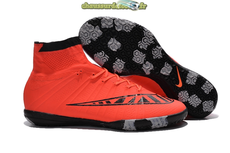 Chaussure Nike MercurialX Proximo INIC Noir Rouge