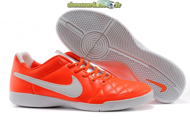 Chaussure Nike Tiempo Mystic V INIC Rouge Blanc