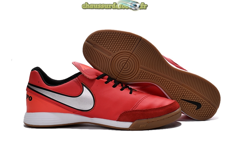 Chaussure Nike Tiempo Mystic V INIC Rouge